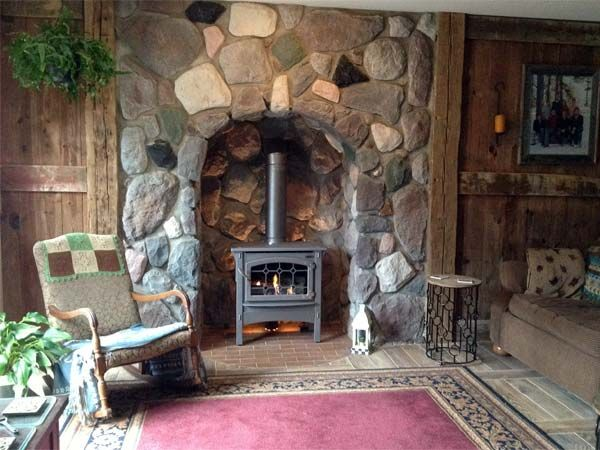 Best Fireplace Before and Afters 2013 106 best rustic fireplace ideas images on Pinterest  Fake