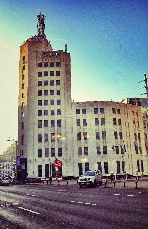 Bucharest Telephone Palace was the tallest building in Bucharest up till 1970 and its arhitecture is inspired by the American skyscrapers. Take a walk on Calea Victoriei and discover the glory of its buildings. #DiscoverBucharest