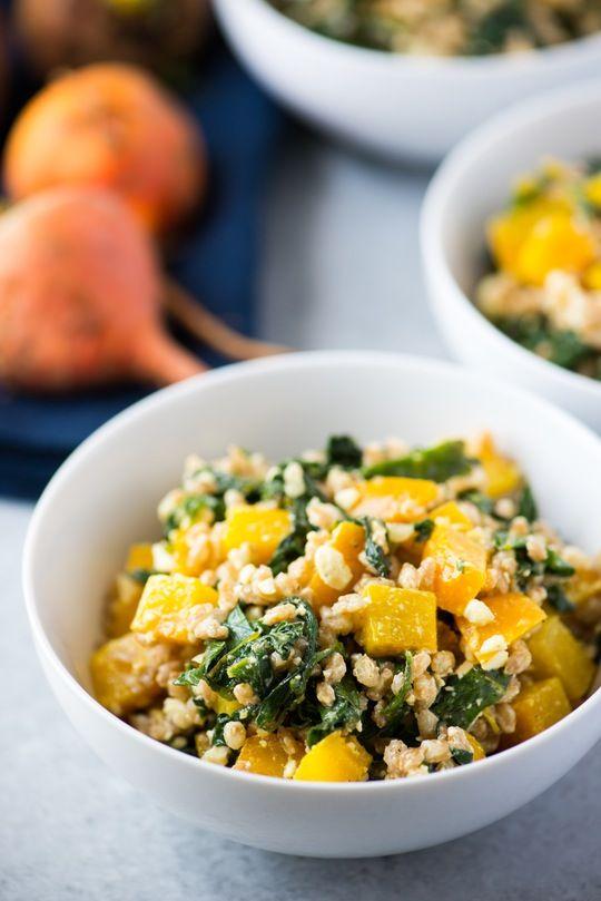 Recipe: Warm Beet and Farro Salad — Recipes from The Kitchn | The Kitchn | Bloglovin'