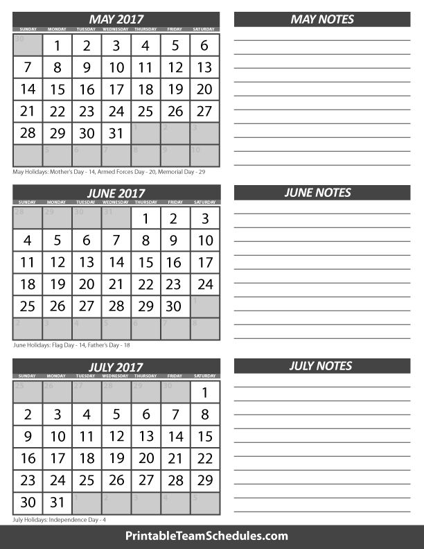free printable 3 month calendar 2018 - Selol-ink