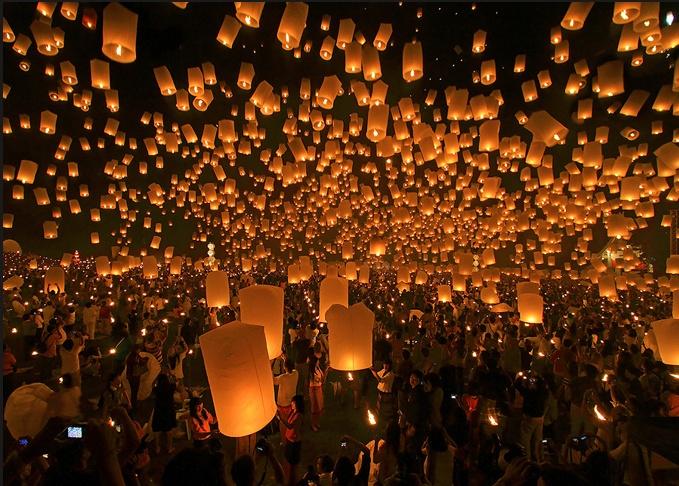 Sky lantern festival/taiwan: Buckets Lists, Real Life, Paper Lanterns, Sky Lanterns, Places, Floating Lanterns, Chiang Mai Thailand, Lanterns Festivals, Lantern Festival