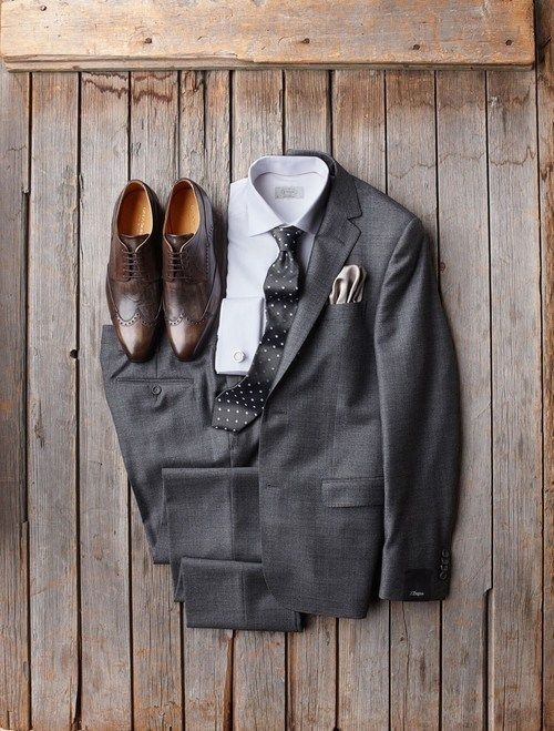 25+ best ideas about Grey Suit Brown Shoes on Pinterest ...