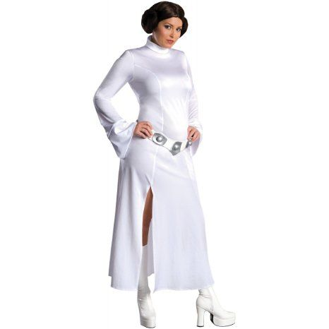 Amazon.com: Princess Leia Costume - Plus Size - Dress Size 16-20: Clothing