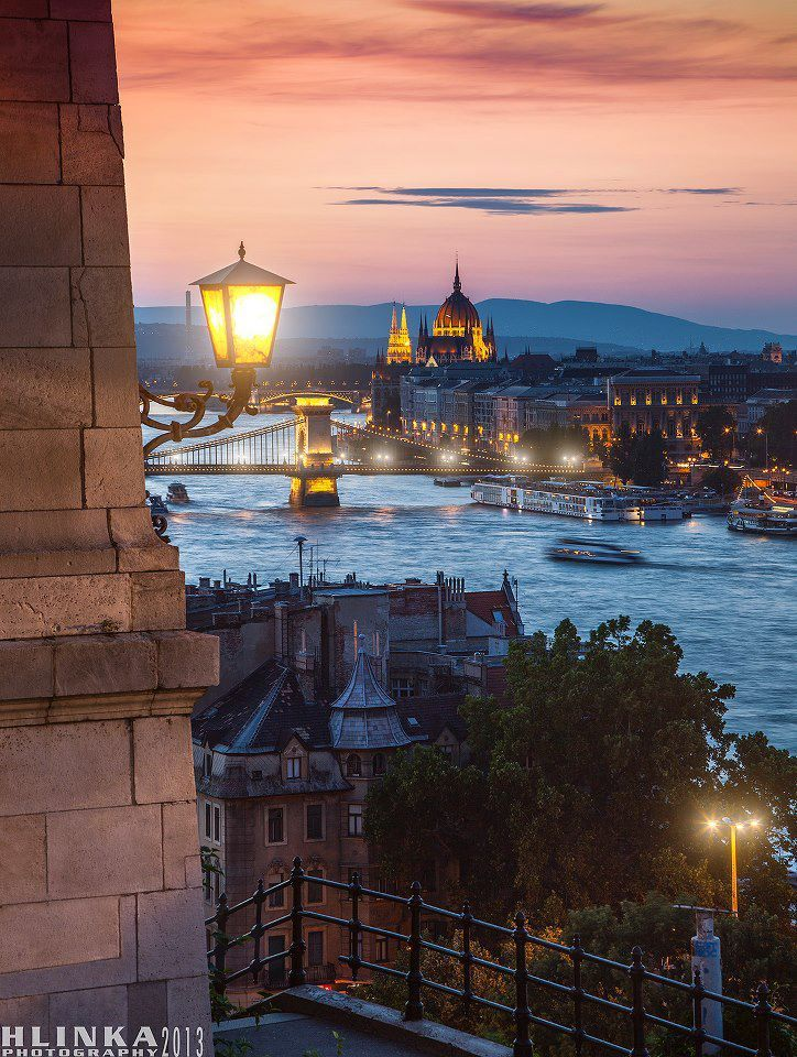 View from the Castle Hill #Budapest #Hungary - so beautiful.