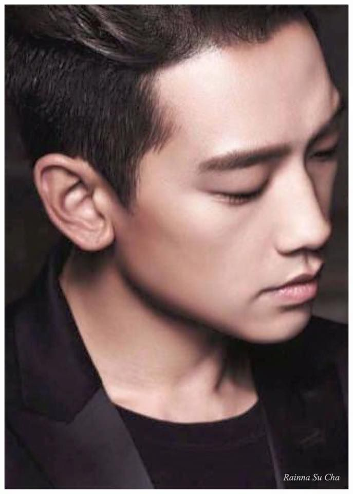 I have no other words but...OH MY!!! Rain is very handsome