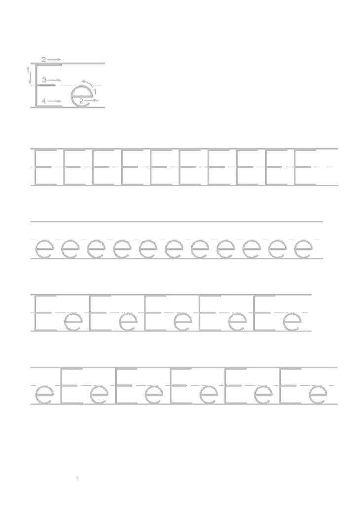 Actividades para niños preescolar, primaria e inicial. Imprimir fichas de caligrafia con el abecedario para niños de preescolar y primaria. Caligrafia Abecedario. 5