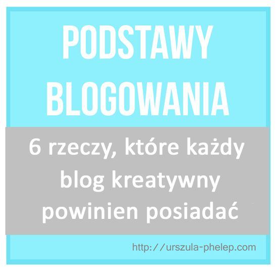 Podstawy blogowania: 5 rzeczy, które każdy blog powinien posiadać…