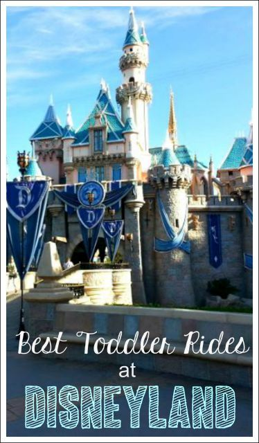 Best Disneyland Rides for Toddlers - Not sure if you should bring your toddler to Disneyland? There is plenty for them to do. Check out the must do toddler attractions!