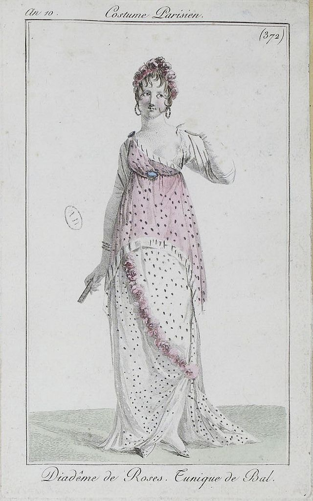 an 10 1802 costumes parisiens, by SceneInThePast