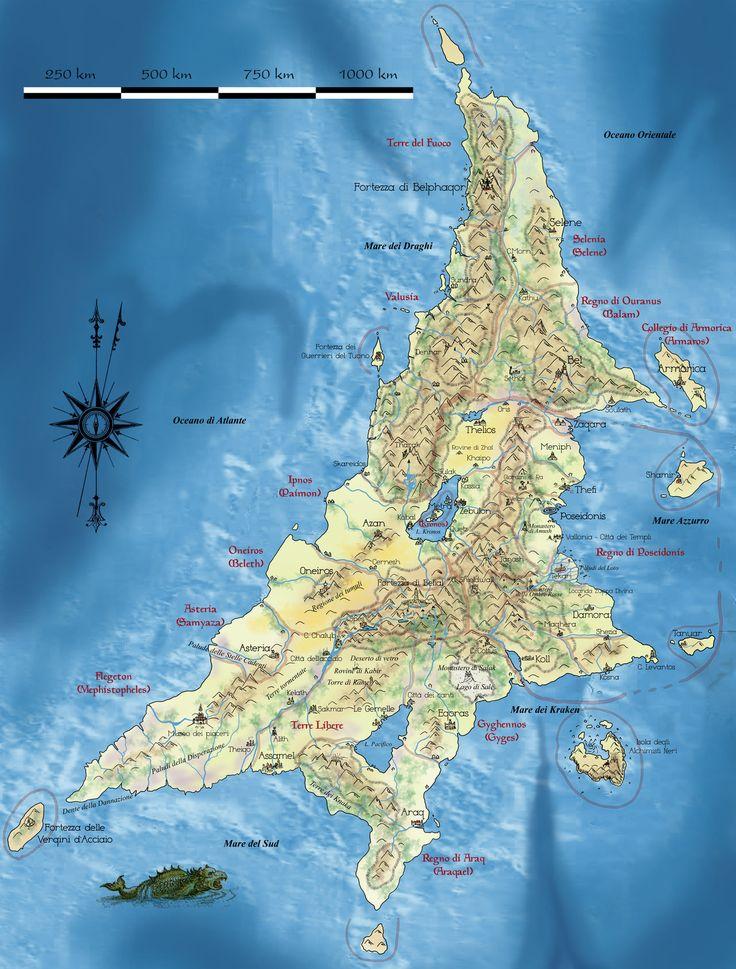 Map of AztlanAtlantisby Erebus74 The 152 best