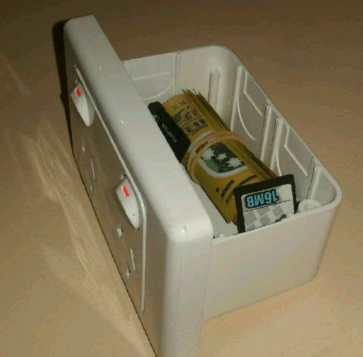 Power point hidden compartment safe in Home & Garden, Home, Personal Security, Safes | eBay