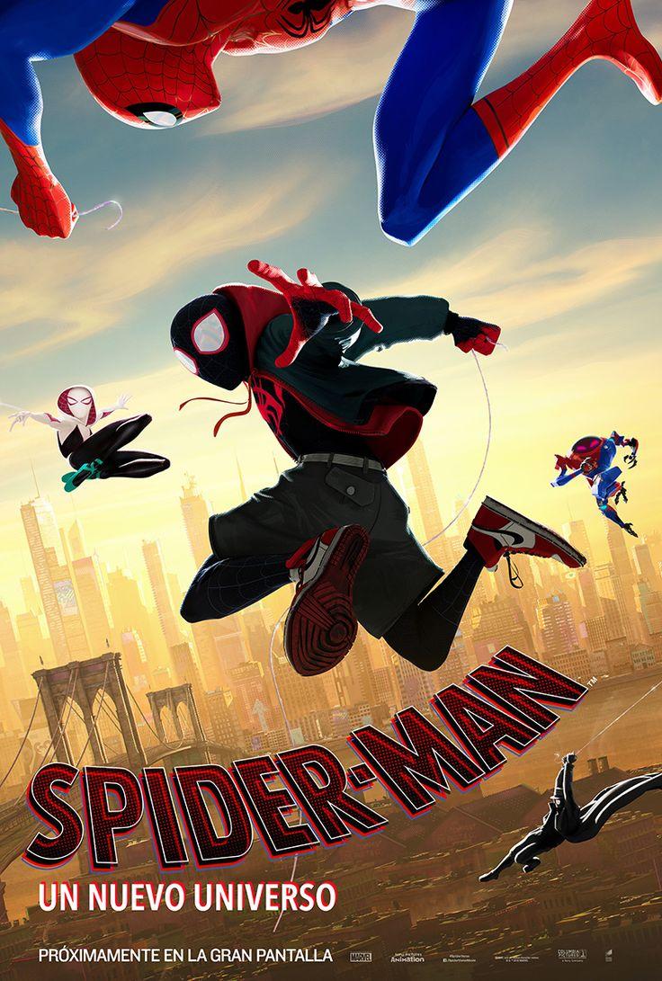 SpiderMan Un Nuevo Universo SpiderMan Into the Spider