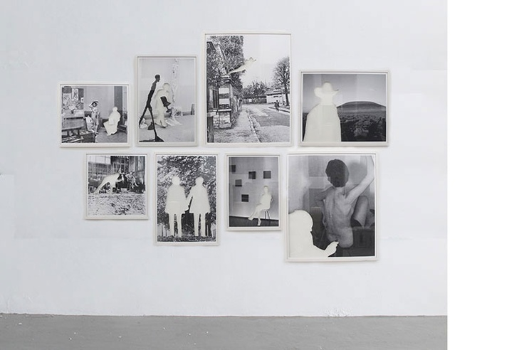 Topologies of identity, 2012  Piezography print on photobase paper  170 x 245.2 cms overall  Ed. 1/4