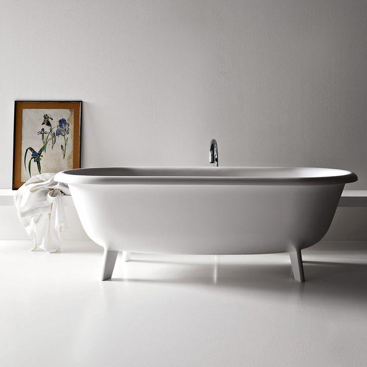 17 meilleures id es propos de baignoire sur pied sur - Salle de bain avec baignoire sur pied ...