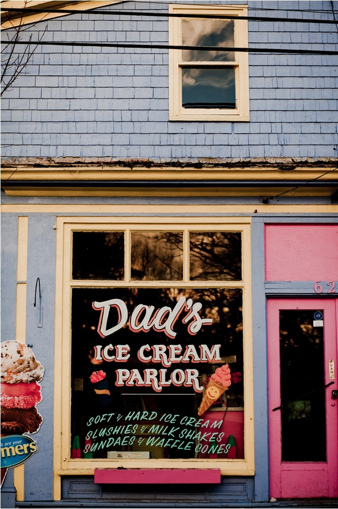 Dad's Ice Cream Parlor | Mahone Bay, Nova Scotia, Canada