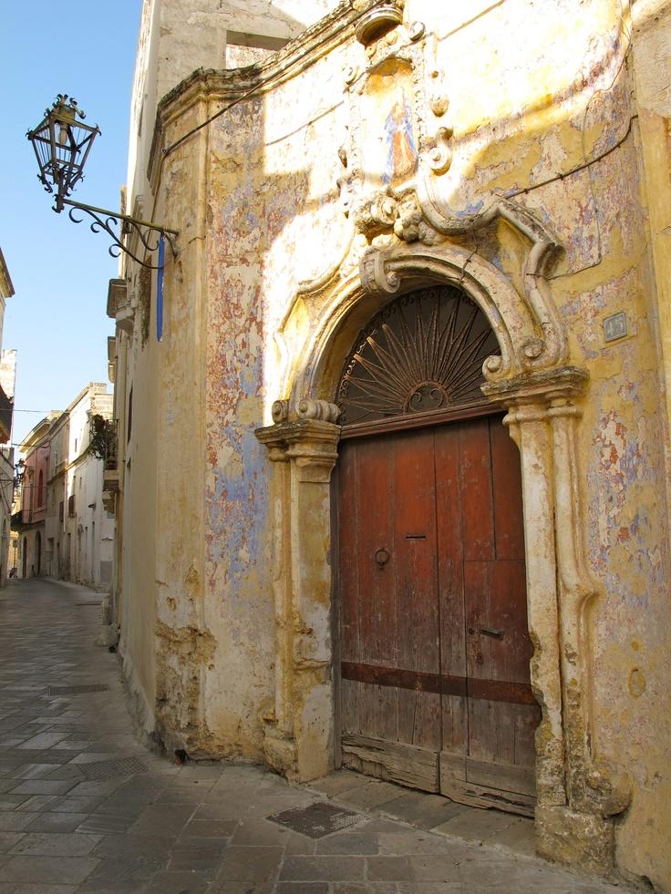 street door in Manduria