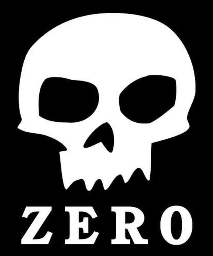 Skateboard Logos Pics Archive: Zero Skateboards Skull Logo