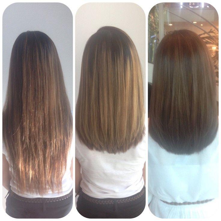 Before And After Bob Haircuts