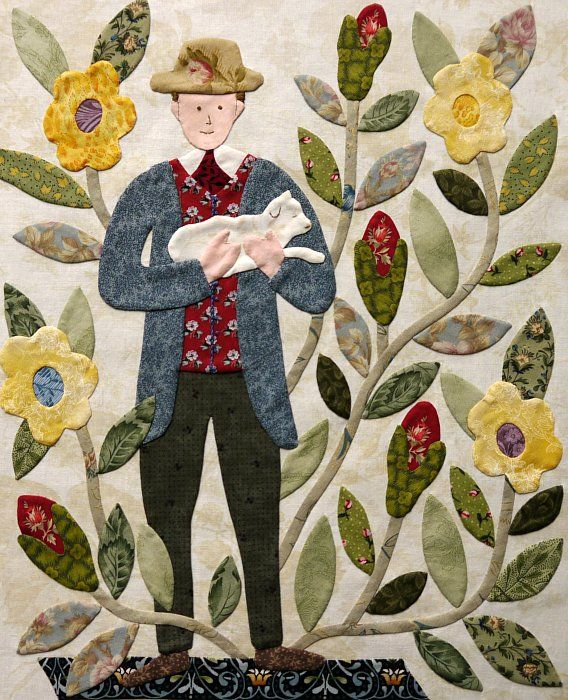 The Civil War Bride Quilt: Groom with Lamb