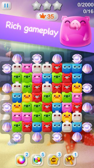 Create puzzle with little cute animals! When you fishish one puzzle, you win one new animal for your collection! Some animals are very very rare or available in limited time! After, show your collection at you friends! (Gotta catch'em all!) Very cute/sweet/attractive/colorfull visual