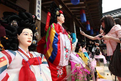 Традиционные корейские причёски