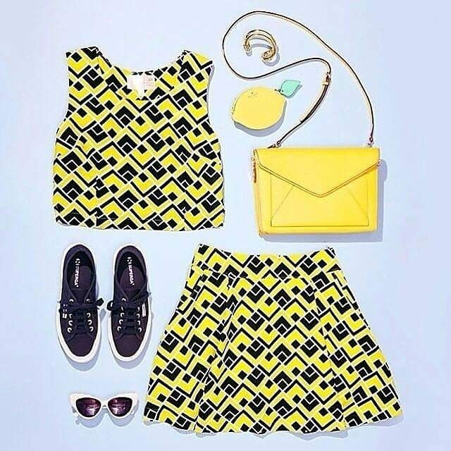 Summer look of the day! #superga #supergagreece #lookoftheday #cotu #navyblue #navy #blue #yellow #fashion #supergaoftheday #whattowear