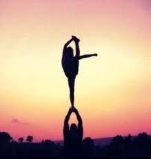 Heel stretch, I miss cheer!