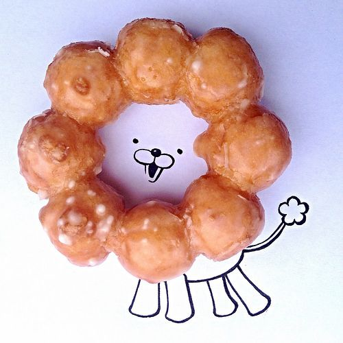 I've been looking for a recipe for the Pon De Ring donut from Mr. Donuts in Japan and I finally found one! Will have to try it out :D