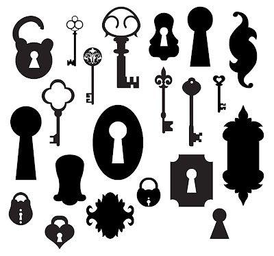 {FREE Cut File}  Key, padlock, lock ~ KLDezign SVG