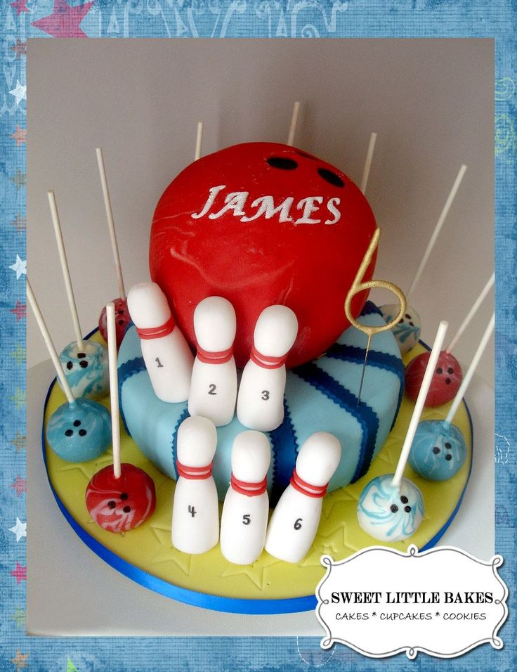 #bowlingcake #bowlingcakepops