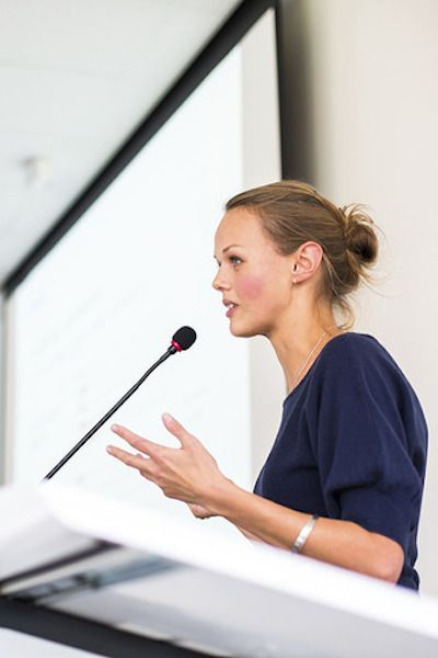 Overcome those public speaking jitters!