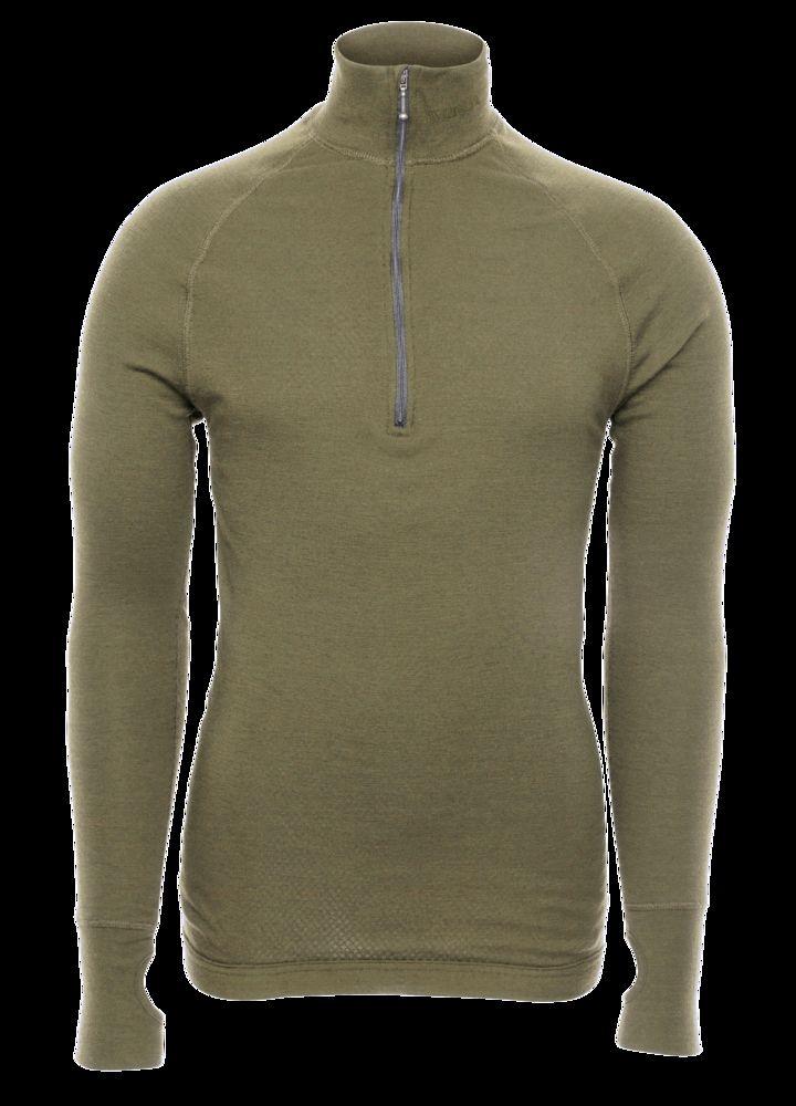 Arctic Tactical Zip Polo 3/4 neck w/thumbfingergrip str L