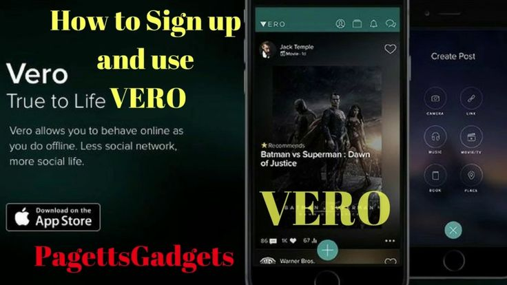 How to Download and use VERO a new Truly Social Media App #pagettsgadgets #vero #truly_social #social_media #app #instagram #new #appstore #iphone #pinterest #free