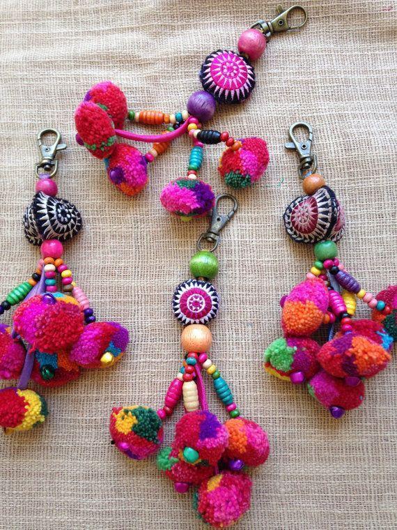 Handmade Pom-pom Tassels