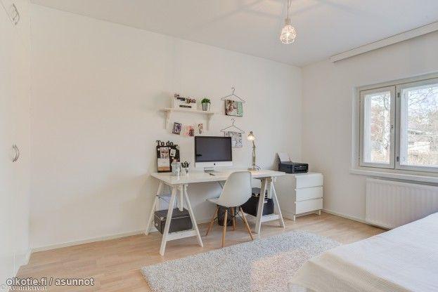 Myytävät asunnot, Ojarinteenkatu 1, Tampere #oikotieasunnot #työhuone #office #homeoffice