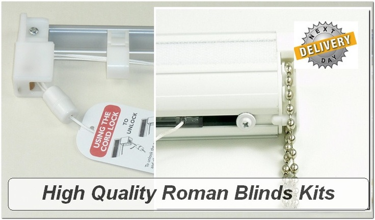 Buy our great quality roman blinds kits, cut to size and delivered to your door. All our roman blinds kits come complete with everything you need to make great roman blinds.