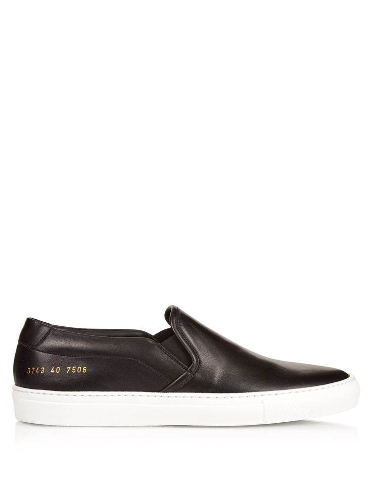 Slip-on low-top leather trainers | Common Projects | MATCHESFASHION.COM UK
