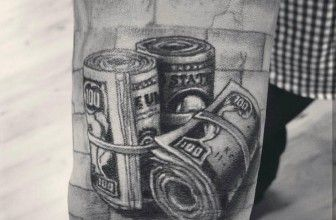 eb541abdcf567 75+ Unique Money Tattoo Designs & Meanings – Get It All (2017 ...