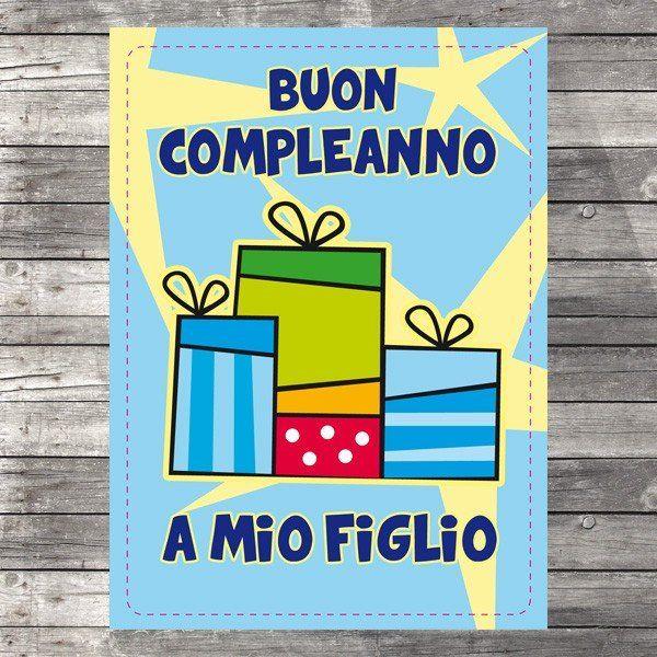 Buon Compleanno A Mio Figlio Auguri Di Compleanno Pinterest