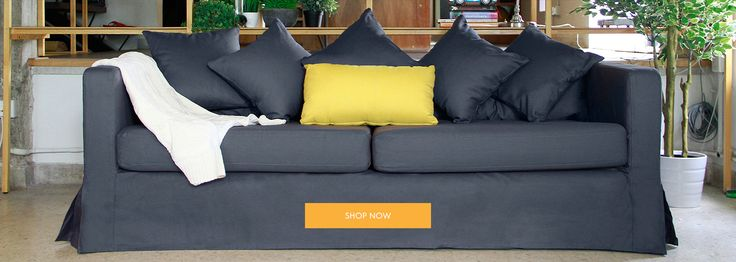 Custom Slipcovers and Loose Couch Covers - Beautiful Custom Slipcovers | Comfort Works
