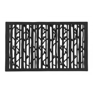 """Perforated rubber doormat """"Skogsbryn"""" designed by Lill O Sjöberg for Dixie"""
