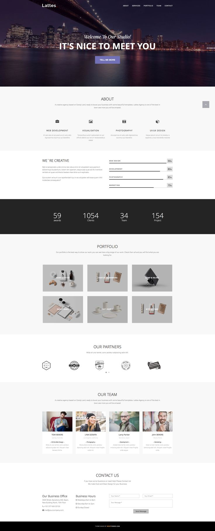 Best 23 bootstrap templates images on Pinterest | Free html ...