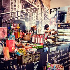 Born in Byron Bay in 2002, Red Ginger is locally famous as a dumpling house, tea house, Asian grocery and gift shop. Wander the store ...