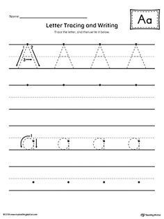 letter a tracing and writing printable worksheet english letter p worksheets letter d. Black Bedroom Furniture Sets. Home Design Ideas
