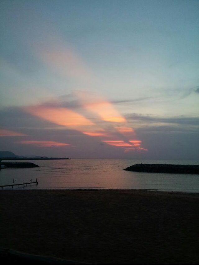 #sky #sea #pataya_thailand