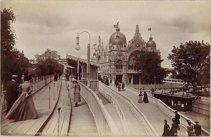 Plateforme mobile, station du pont des Invalides