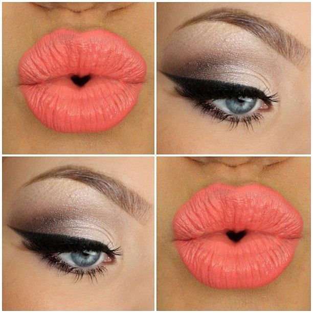 Love matching makeup with my accessories! Definitely a must-do to match with Fab Coral Accessories!