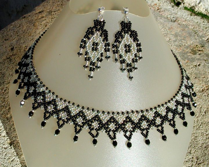 Pdf. for this netting necklace and earrings on site. Thank you so much for your generosity.