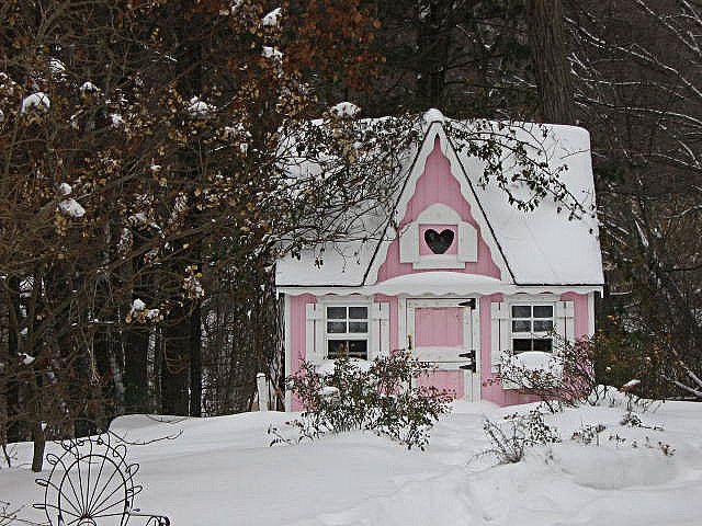 Beautiful Little Pink Cottage