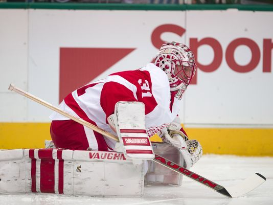 Red Wings assistant: 'No doubt' Jared Coreau will be an NHL goalie